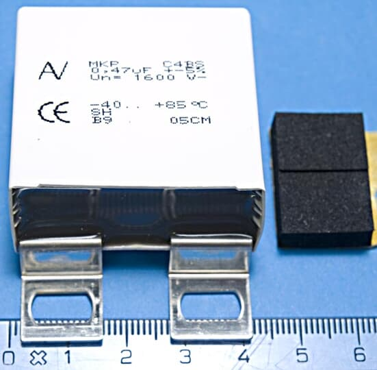 CAPACITOR, CLAMP CAPACITOR KIT (3AUA0000119747)